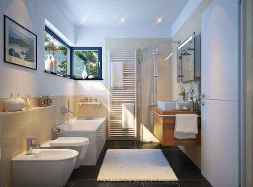 Baezimmer in Einfamilienhaus - Bathroom in family house